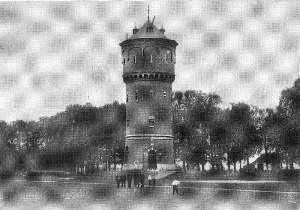 1893 Voetbal Het allereerste speelveld van de Z.A.C.: De Turfmarkt .