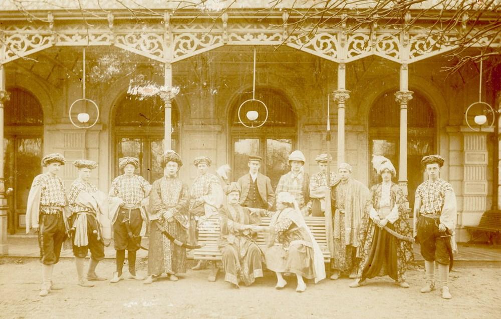 1894 Verenigingsleven Opvoering van de Z.A.C.-operette 'Een kijkje in het Oosten'