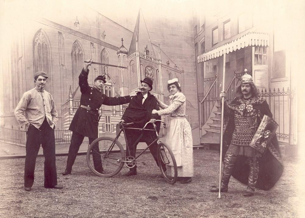 1899 Verenigingsleven de operette 'Veertien dagen in Zwolle of de gevolgen van een windvlaag
