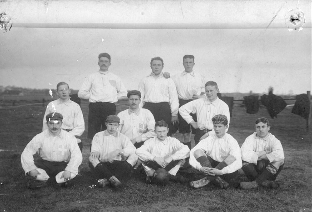 1904 Voetbal Z.A.C. 1 op onbekend voetbalterrein op 10 oktober