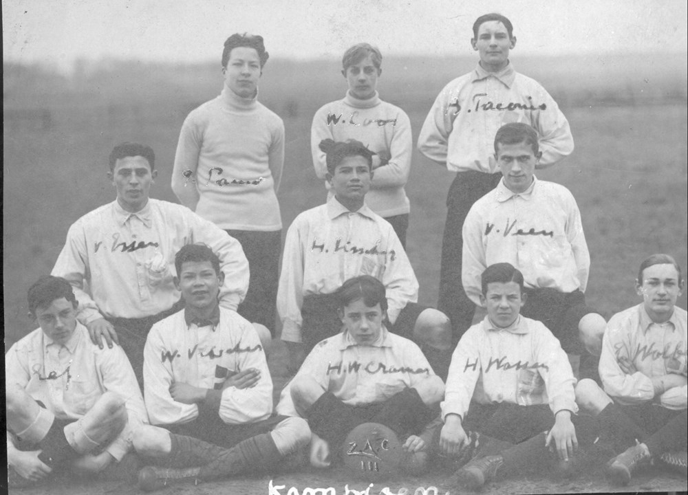 1909 Voetbal Z.A.C. 3