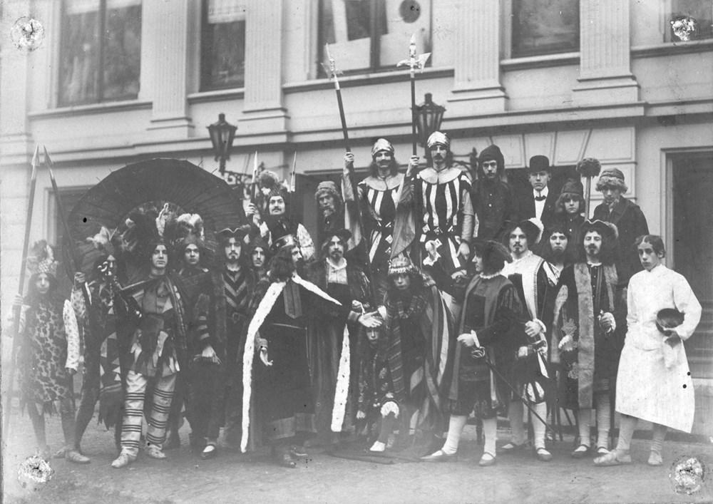 1909 Verenigingsleven Opvoering operette t.g.v. het 10-jarig bestaan.
