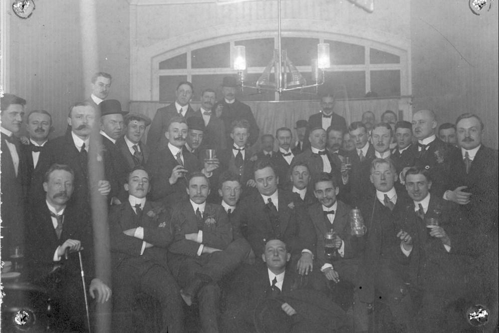 1912 Verenigingsleven Samenzijn na interland