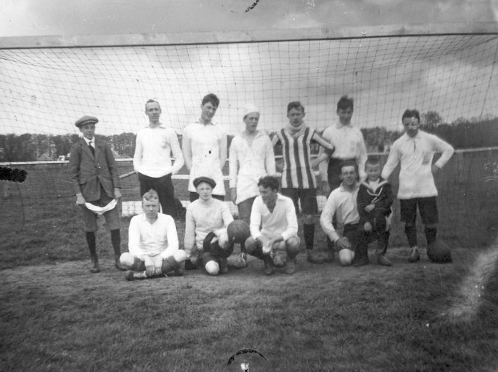 1914 Voetbal Z.A.C.-combinatie-elftal