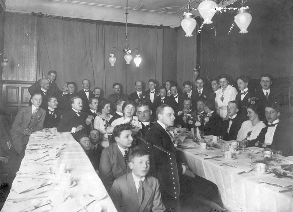 1916 Verenigingsleven Z.A.C.-souper