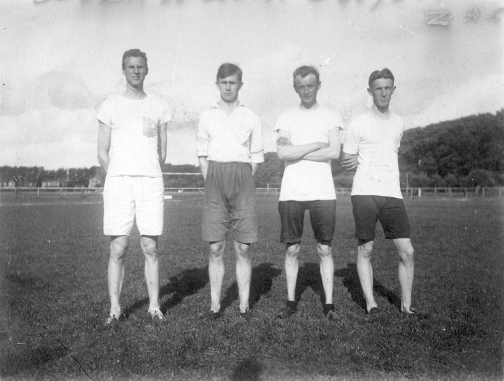 1917 Athletiek  Z.A.C.-estafetteploeg 4 x 100 m.