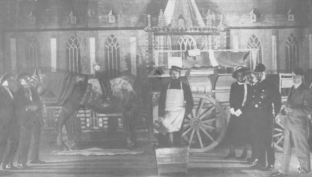 1918 Verenigingsleven Z.A.C.-revue ' 't is In orde'