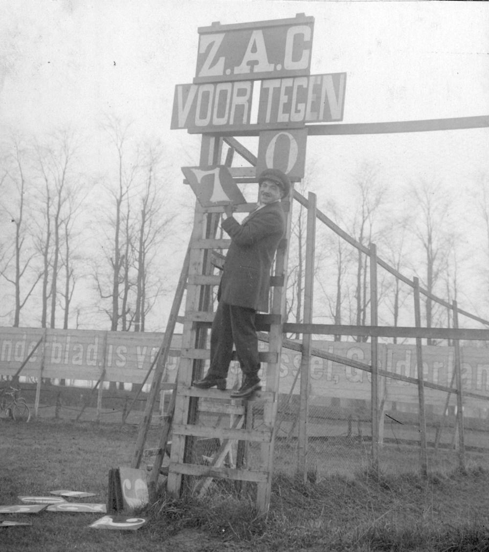 1919 Voetbal Scorebord