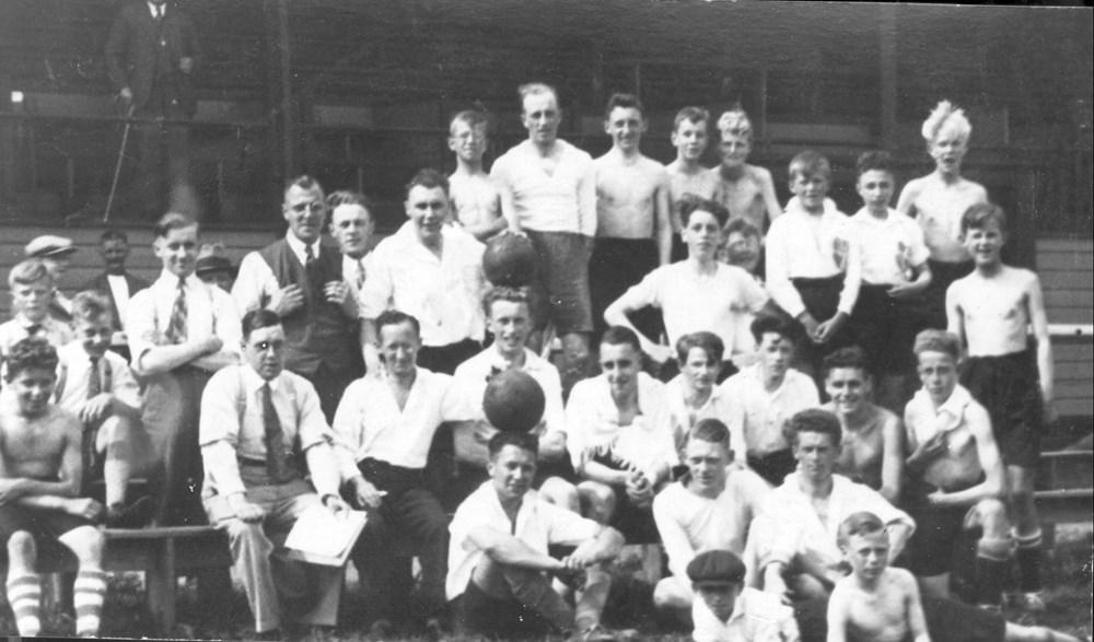 1933 Verenigingsleven Z.A.C.-sportdag