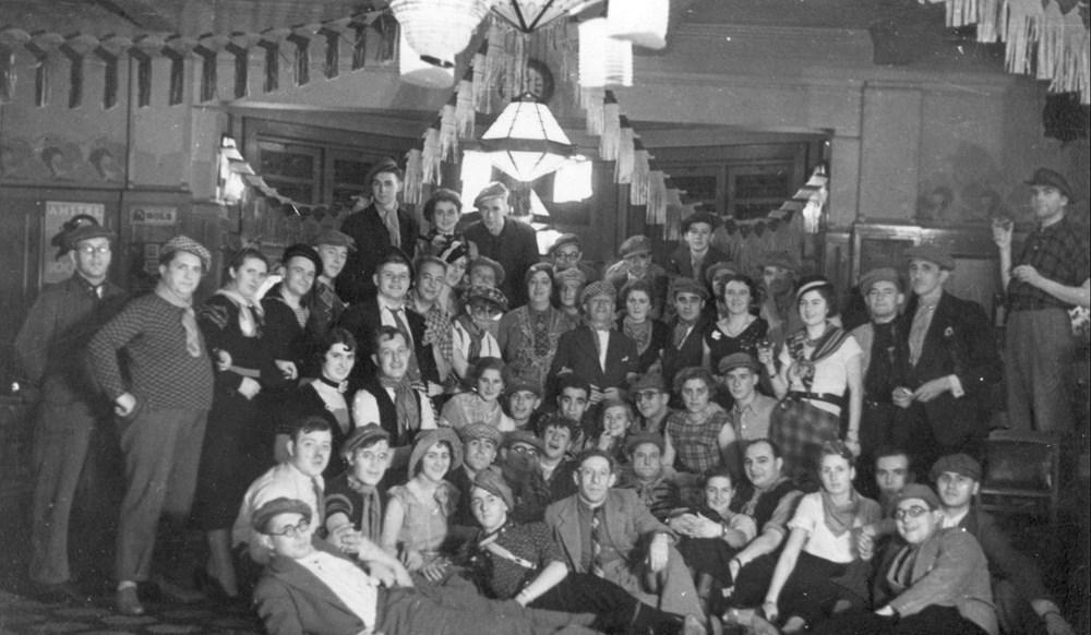 1934 Verenigingsleven Feest van revue-medewerkers