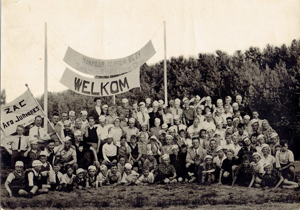 1936 Verenigingsleven Jeugdkamp