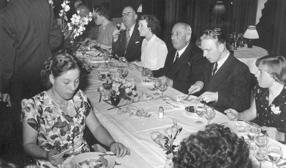 1951 Handbal Diner Hotel van Gijtenbeek
