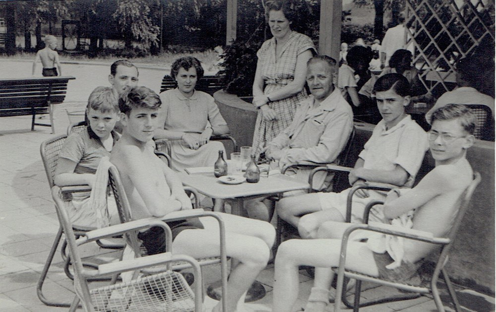1951 Verenigingsleven Z.A.C. jeugdkamp Doetinchem.