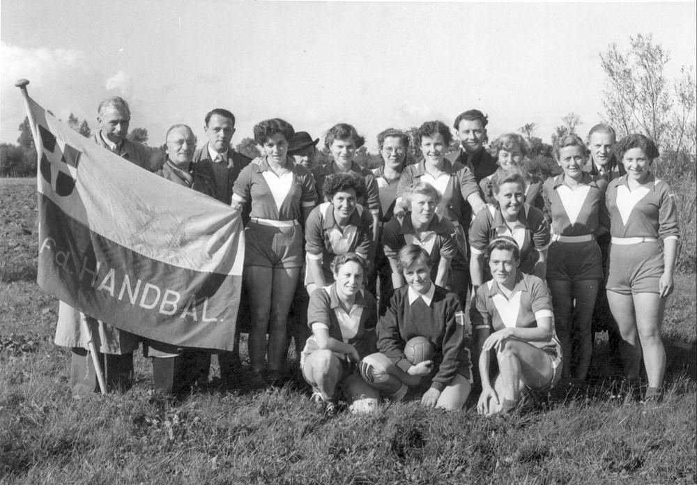 1952 Handbal Z.A.C. Dames 1 in de hoofdklasse