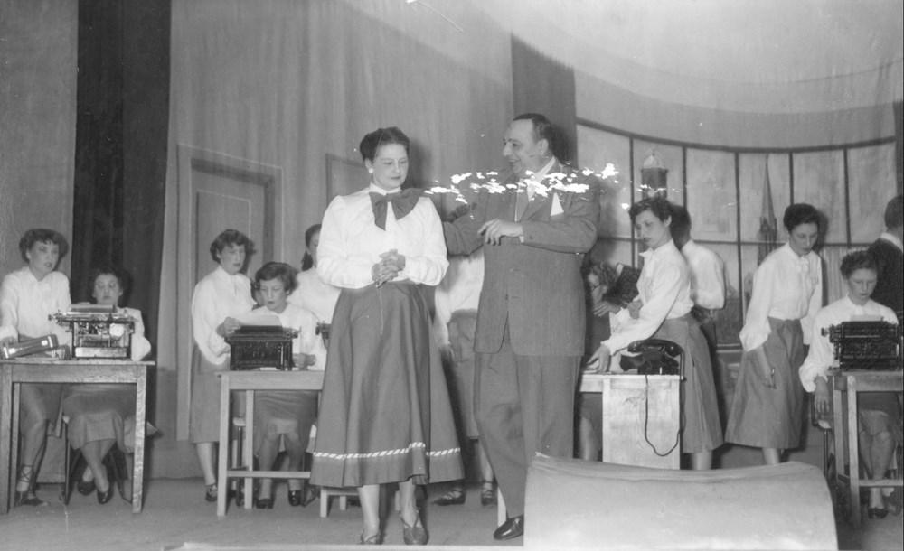 1953  Verenigingsleven revue 'Z.A.C.-Diamant'