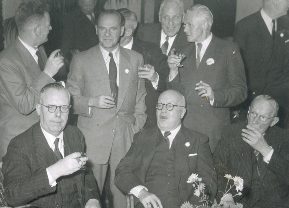 1953  Verenigingsleven reünie en diner 60-jarig bestaan