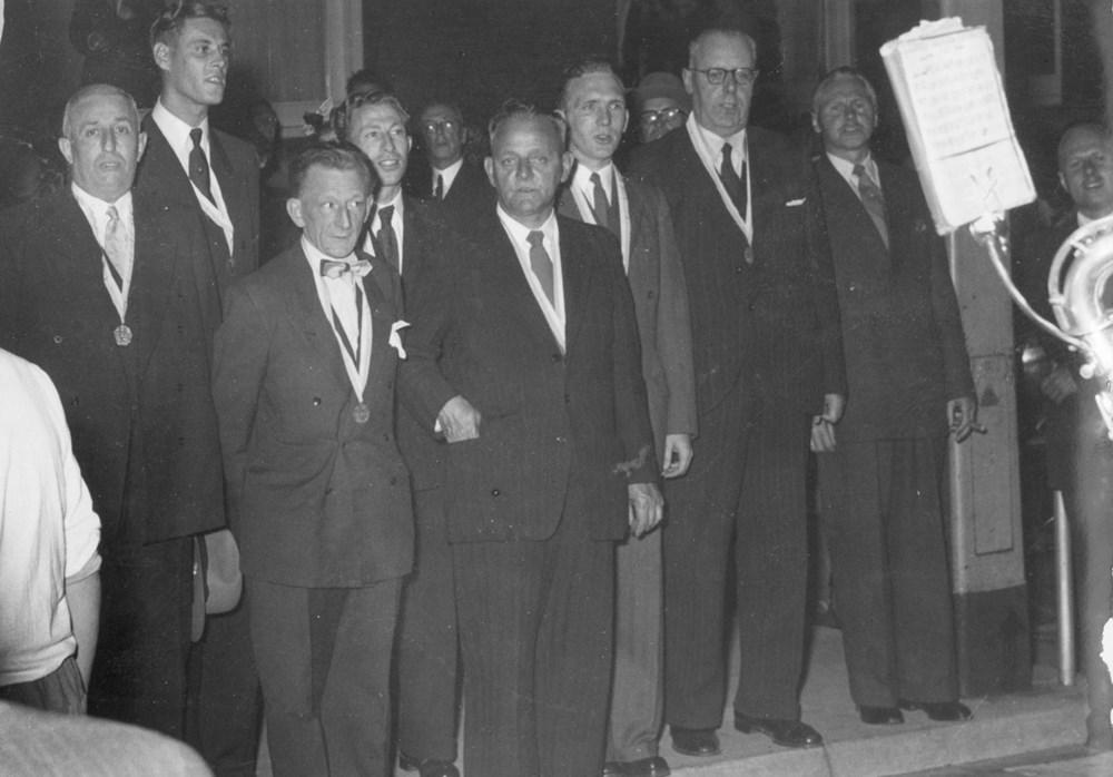 1953  Verenigingsleven Feestelijke ledenvergadering 60-jarig bestaan