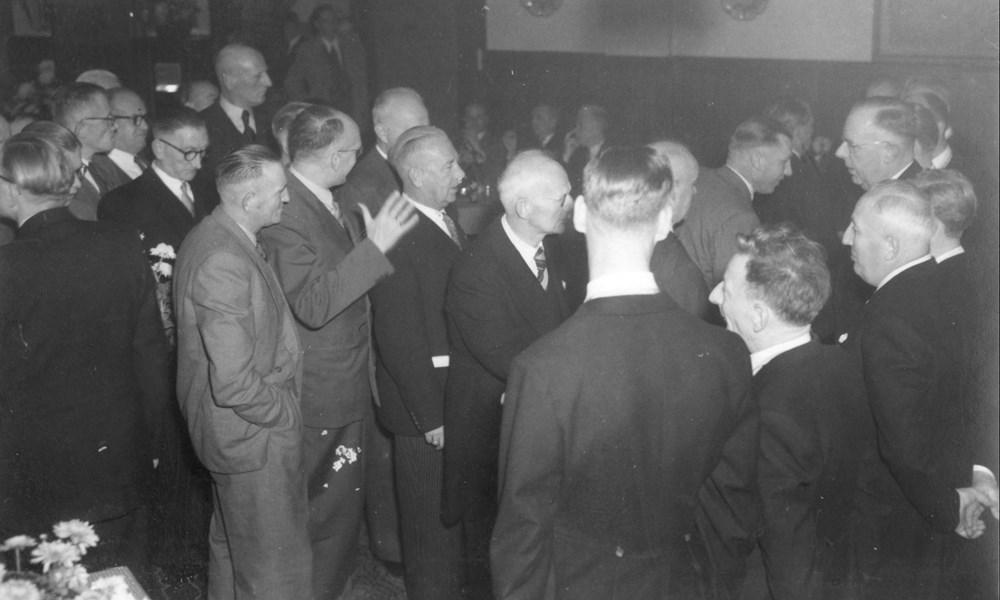 1953  Verenigingsleven receptie 60-jarig bestaan