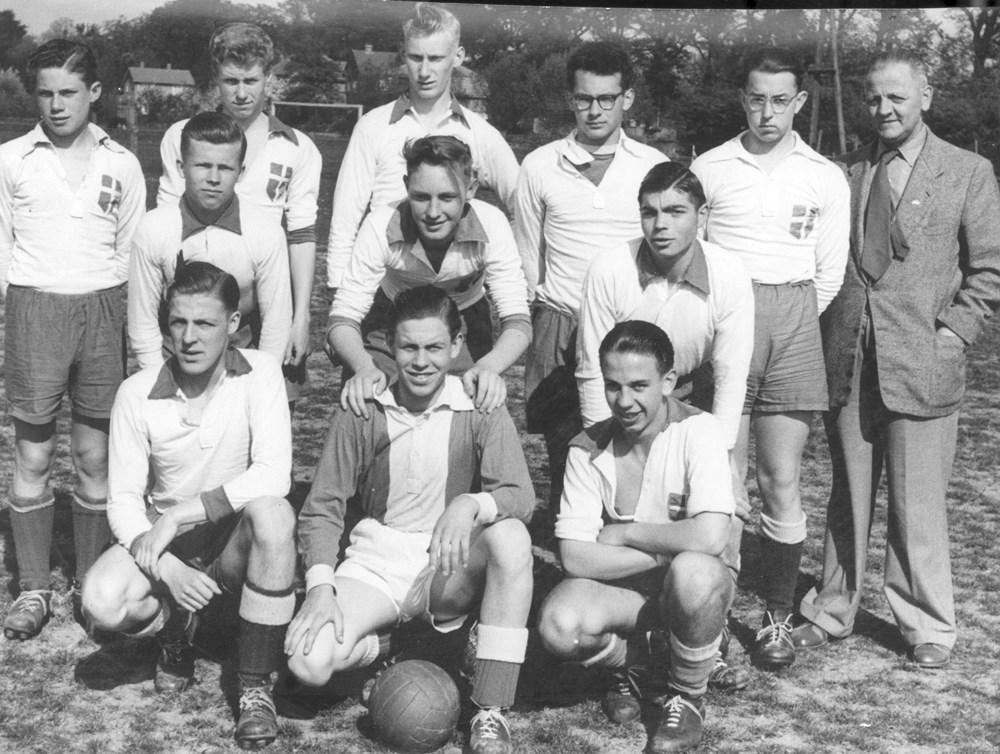 1954 Voetbal Z.A.C. A-junioren