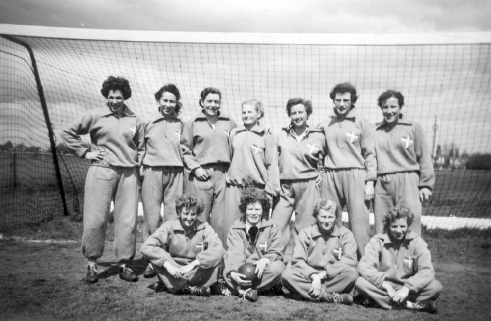 1955 Handbal  Z.A.C. Dames 1