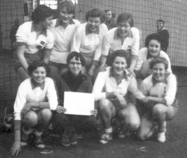 1956 Handbal Meisjes junioren kampioen
