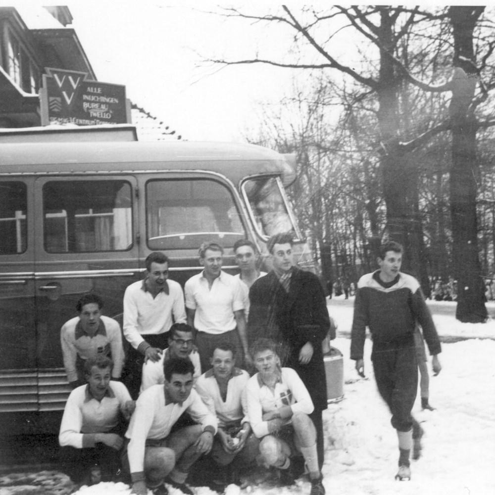 1958 Handbal Z.A.C. heren 1