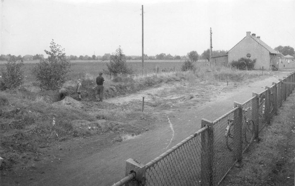 1958 Verenigingsleven Start bouw nieuwe tribune