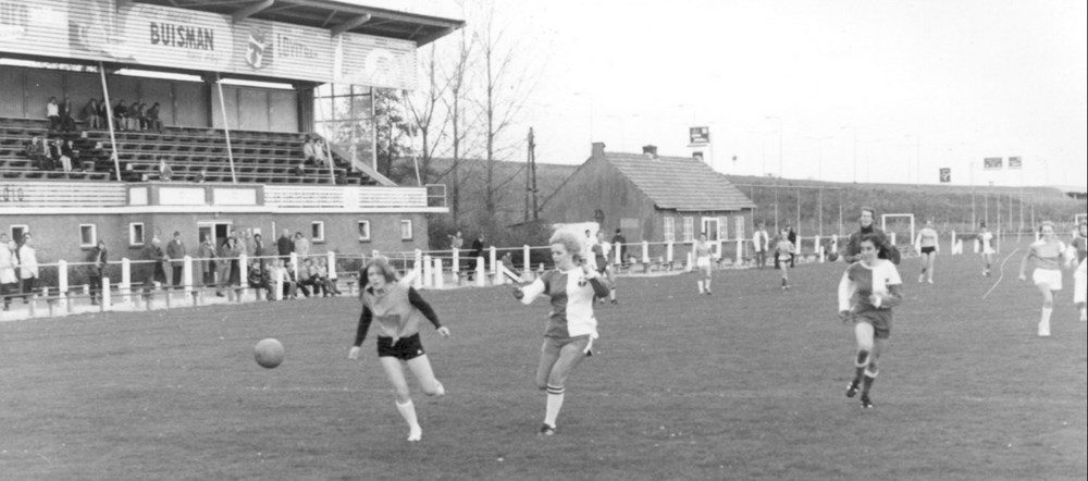 1971 Voetbal Z.A.C. dames