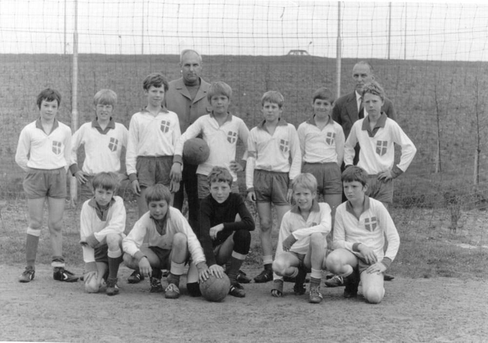 1971 Voetbal Pupillenelftal van Z.A.C.