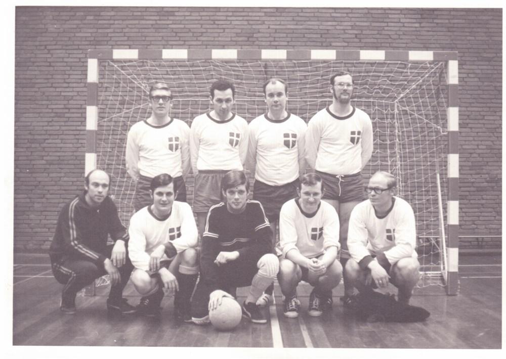 1971 Voetbal Onderling zaalvoetbaltoernooi Z.A.C.
