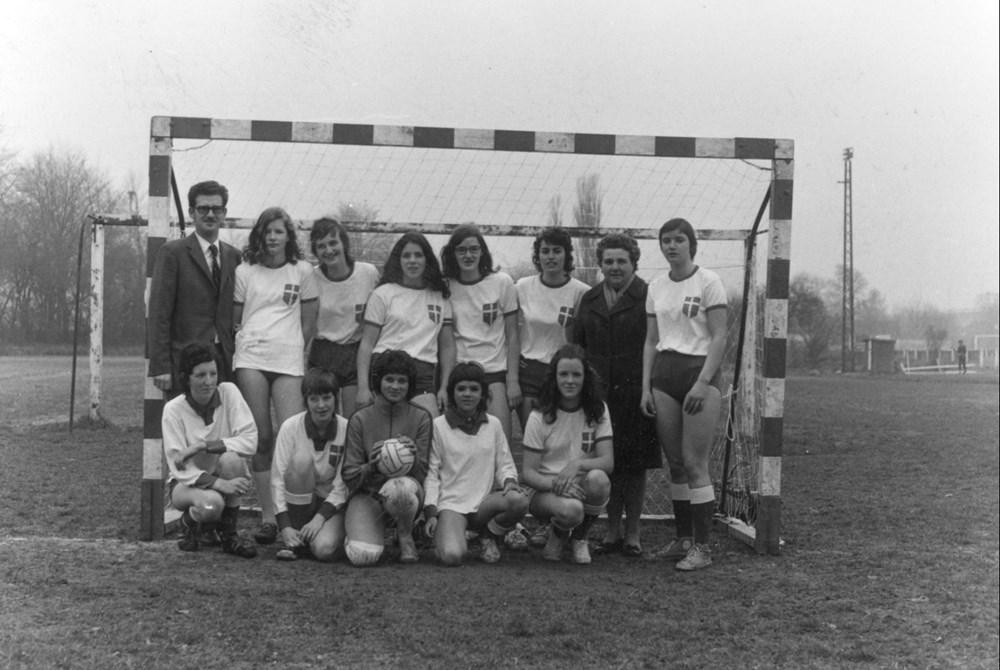 1973 Handbal Z.A.C. Dames 1
