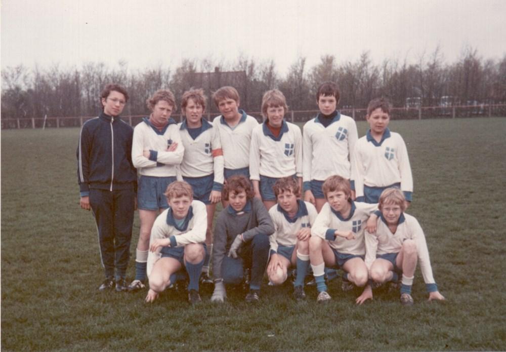 1972 Voetbal Juniorenelftal van Z.A.C.