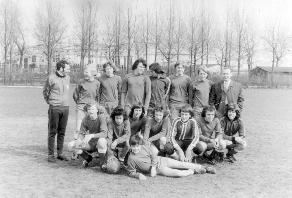 1973 Voetbal Z.A.C. B1