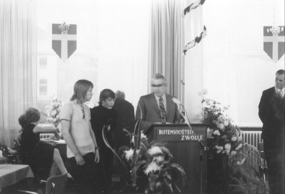 1973 Verenigingsleven Receptie 80-jarig bestaan