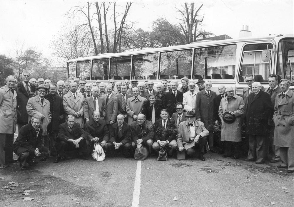 1976 Verenigingsleven Tussentijdse reünie (rondrit)
