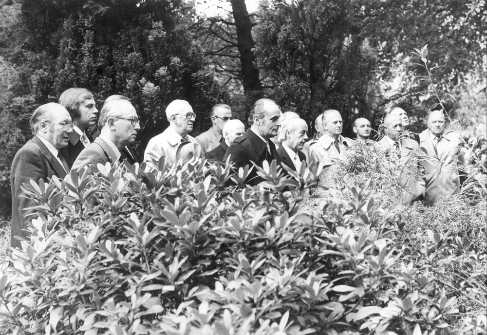 1978 Verenigingsleven Dodenherdenking