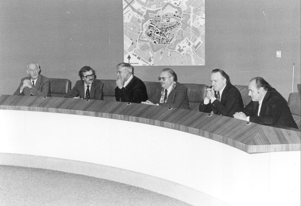 1978 Verenigingsleven Ontvangst op het stadhuis