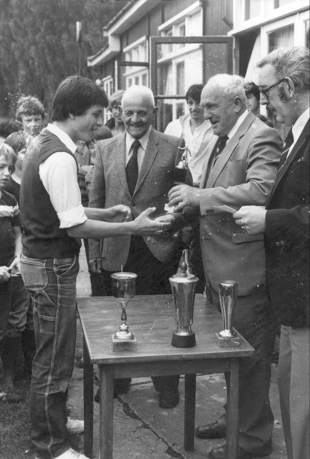 1980 Verenigingsleven P.J. Backers-toernooi (A-jeugd)