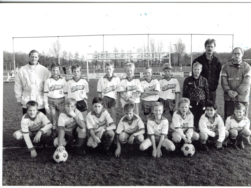 1993 Voetbal Z.A.C. D1