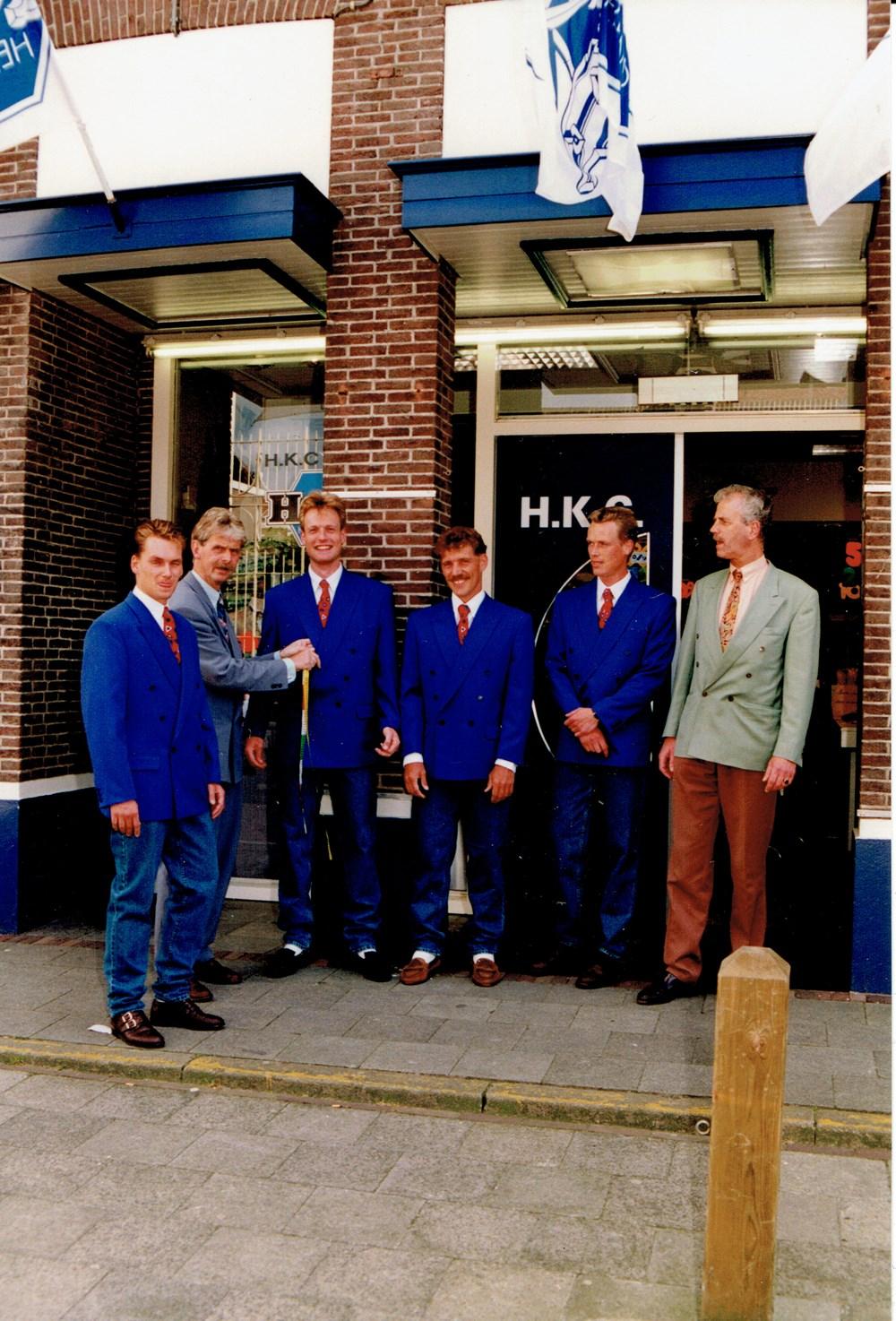 1993 Verenigingsleven Z.A.C.-selectie in nieuw kostuum