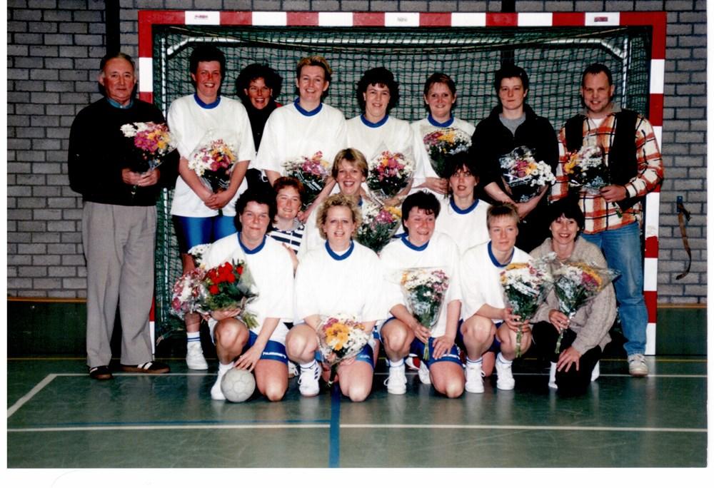 1996 Handbal Dames ZAC 1 kampioen