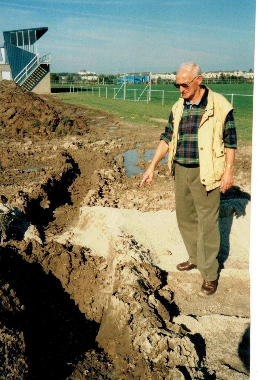 1996 Verenigingsleven Werkzaamheden op nieuwe sportpark 'Jo van Marle'