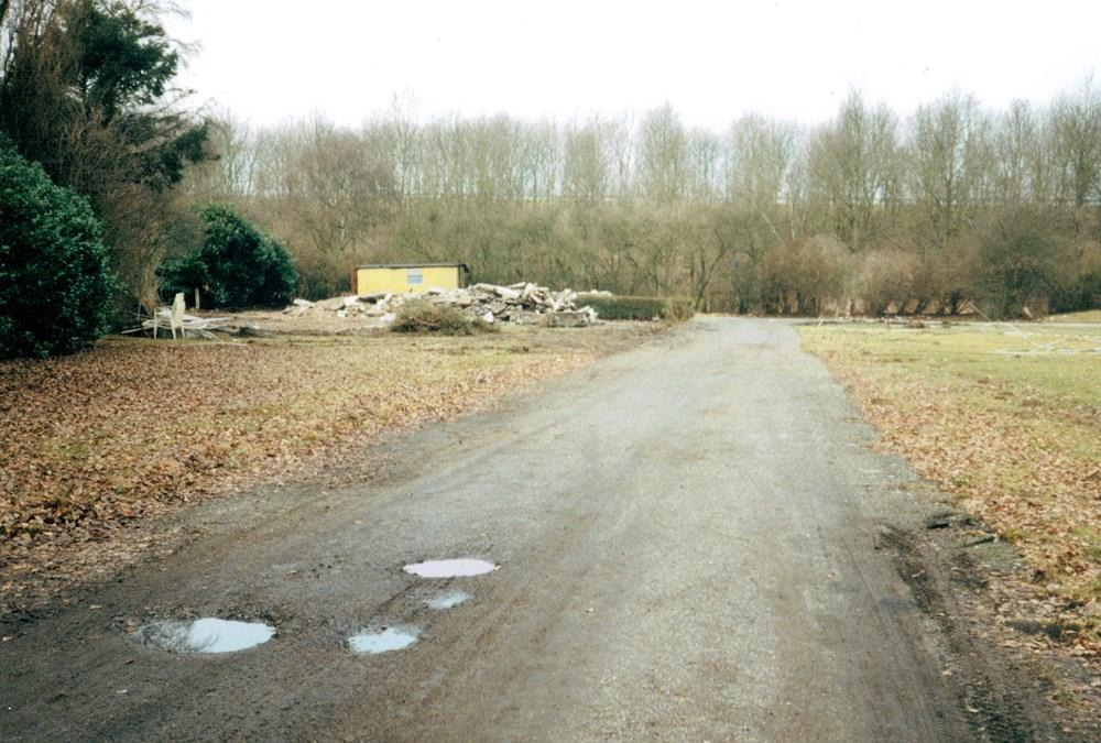 1996 Verenigingsleven Sloop van het sportpark aan de Oude Veerweg