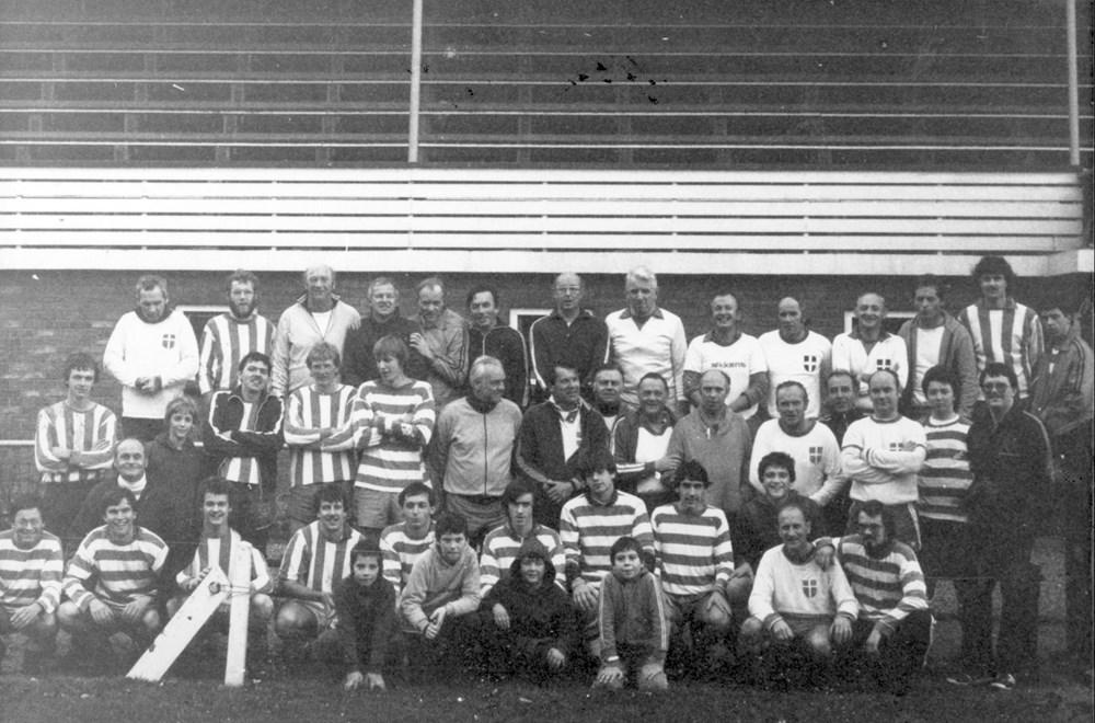 1980 Verenigingsleven Z.A.C.-vaders tegen zonen