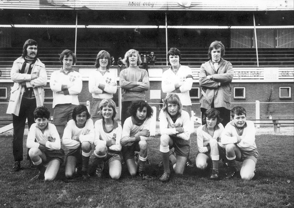 1972 Voetbal  Z.A.C. C1