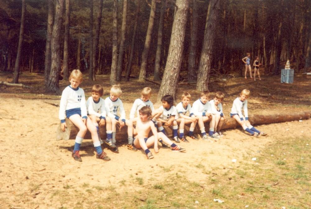 1980 Verenigingsleven Pupillenkamp Hellendoorn
