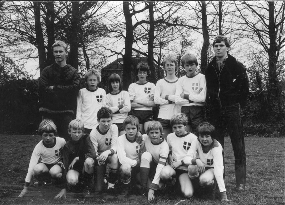 1979 Voetbal Z.A.C. D1-pupillen