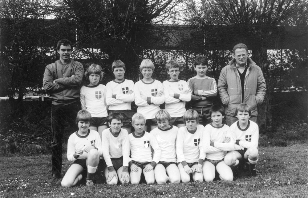 1979 Voetbal Z.A.C. D2-pupillen
