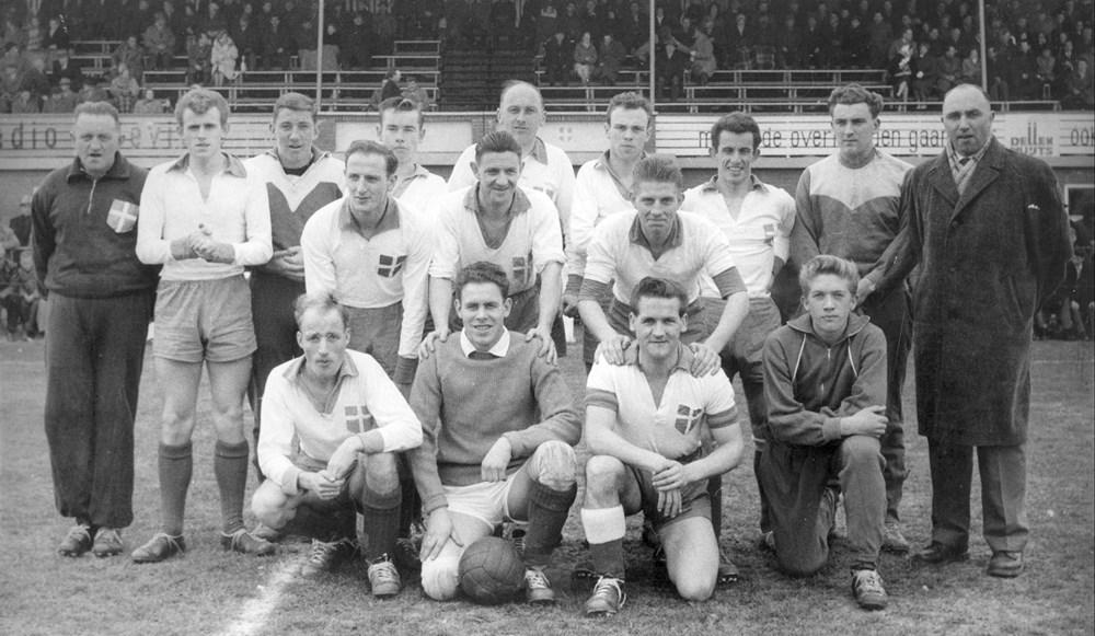 1960 Voetbal Z.A.C. 1 kampioen