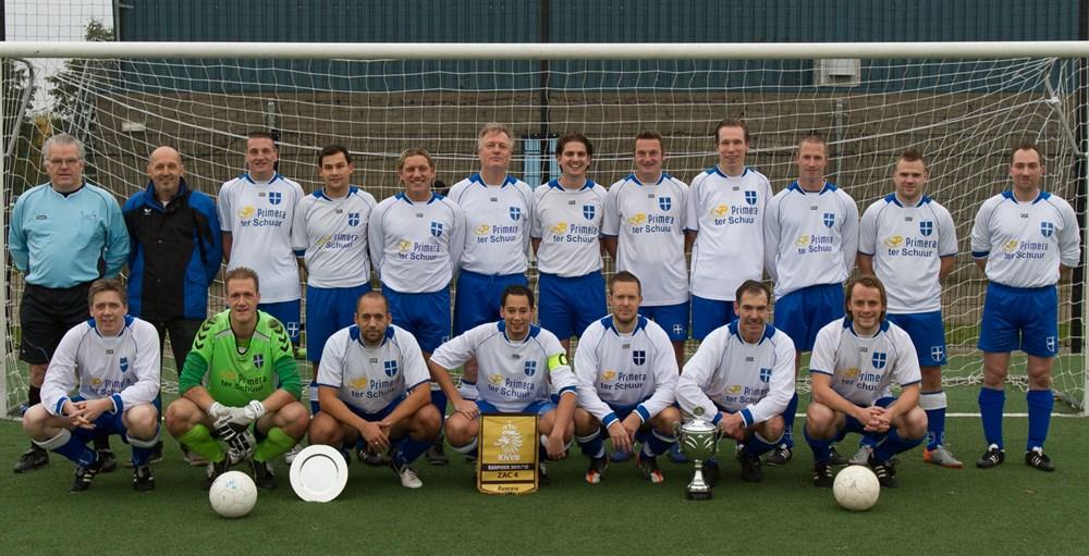 2012 Voetbal  ZAC 4 en haar prijzen
